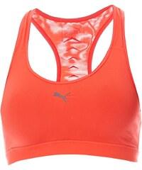 Puma Sport-BH - korallenfarben