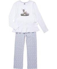 SANETTA Pyjama mit Reh-Print