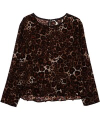 Sisley Young Bluse - gemustert