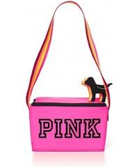 Victoria's Secret Chladící taška a přívěsek na klíče Cooler & Mini Dog Keychain Set