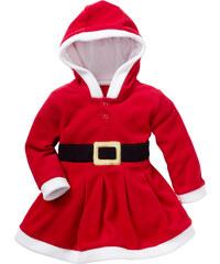 bpc bonprix collection Robe bébé Mère Noël rouge manches longues enfant - bonprix