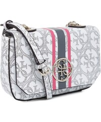 Guess Kabelka Heritage Sport Mini White