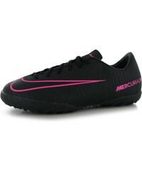 Turfy Nike Mercurial Vapor TF dět. černá/růžová