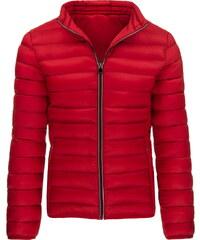Pánská prošívaná červená bunda (tx1287) velikost: XXL, odstíny barev: červená