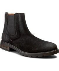 Kotníková obuv TOMMY HILFIGER - Curtis 15B FM56821739 Black 990