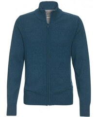 COOL CODE Herren Strickjacke Cardigan blau aus Baumwolle