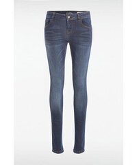 Jean femme skinny SEBBA Bleu Coton - Femme Taille 34 - Bonobo