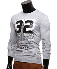 Re-Verse Sweatshirt NY City - Hellgrau - S