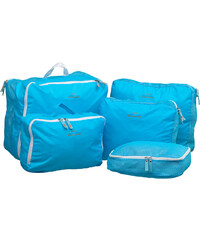 Lesara 5-teiliges Koffer-Organizer-Set - Blau