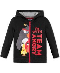 C&A Angry Birds Sweatjacke mit Kapuze in Schwarz
