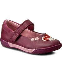 Ballerinas CLARKS - NibblesFay Inf 261191306 Berry Leather