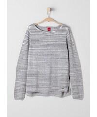 s.Oliver RED LABEL Junior Melierter Feinstrick-Pullover für Mädchen