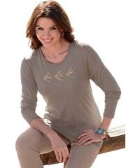 Ambria Shirt mit Vögeln bedruckt