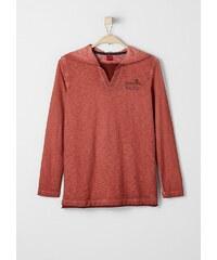 s.Oliver RED LABEL Junior Kapuzenshirt in Garment Dye für Jungen