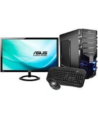 Hyrican Gaming PC Set AMD FX-8350, 16GB, Windows 10 + Monitor »Alpha Gaming SET01075«