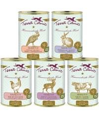 TERRA CANIS Set: Hundenassfutter »Sensitiv getreidefrei«, 5 Dosen á 400 g