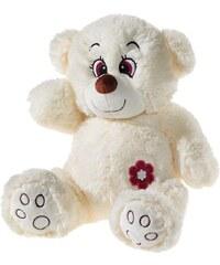 Heunec Kuschelbär, creme, »Glitzer Teddy«