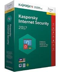 Kaspersky PC - Spiel »Kaspersky Internet Security 2017 5 Lizenzen Upgrad«