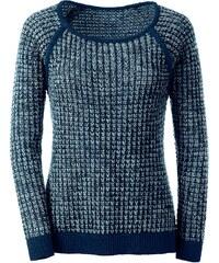 Classic Inspirationen Pullover in trendigem, 2-farbigem Grobstrick