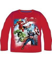 E plus M Chlapecké tričko Avengers - červené