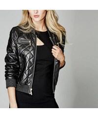 Guess by Marciano Kožená bunda Jenna Leather Bomber Jacket