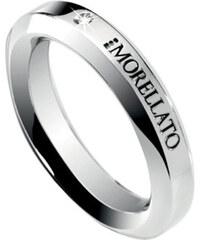 Morellato Ocelový prsten s diamantem Dandy SPL01