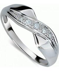 Danfil Krásný prsten s diamanty DF1915b