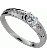 Danfil Luxusní zásnubní prsten DF2106b