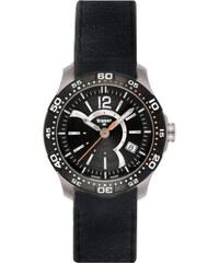 Traser Ladytime Chronograph Black Leather