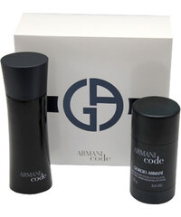 Armani Code For Men - EDT 75 ml + tuhý deodorant 75 ml