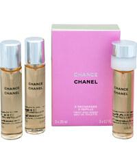 Chanel Chance - toaletní voda s rozprašovačem - náplň (3 x 20 ml)
