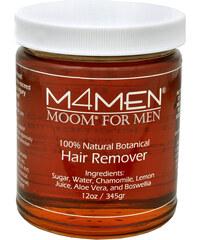 Moom Epilační pasta s kadidlovníkem pro muže (Hair Remover M4MEN) 345 g