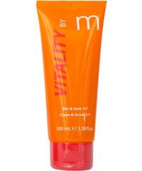 Matis Paris Intenzivně rozjasňující a čistící peeling VITALITY by m (Clean & Scrub 7/7 2v1) 100 ml
