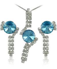 MHM Souprava šperků Rivoli Aquamarine 34139