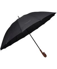 Bugatti Partnerský holový mechanický deštník Doorman - černý 71763001BU