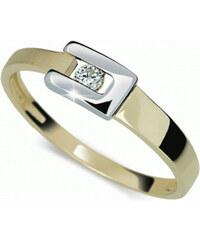 Danfil Bicolor prsten s diamantem DF2039z