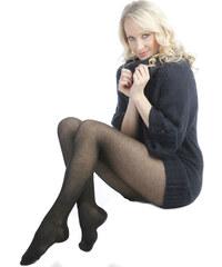 Evona Černé bavlněné punčochové kalhoty Fany 560086-999