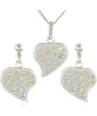 MHM Souprava šperků Srdce M6 Crystal 34173