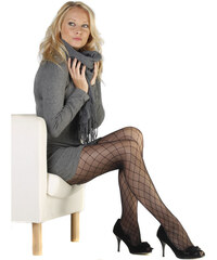 Evona Černé dámské punčochové kalhoty Peggy-999