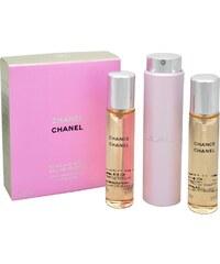 Chanel Chance - toaletní voda s rozprašovačem (3 x 20 ml)