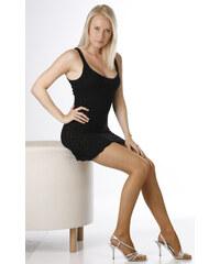 Evona Béžové dámské punčochové kalhoty bokové 17 Bokovky-1005