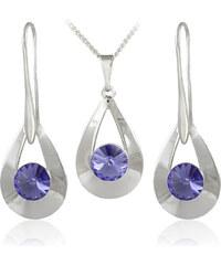 MHM Souprava šperků Karen 2 Tanzanite 34178