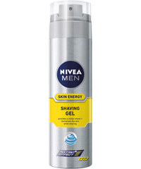 Nivea Gel na holení Skin Energy Q10 200 ml