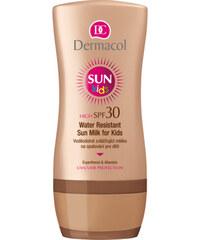 Dermacol Voděodolné zvláčňující mléko na opalování pro děti SPF 30 Sun Kids (Water Resistant Sun Milk for Kids) 200 ml