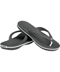 Crocs Černé žabky Crocband Flip Black 11033-001