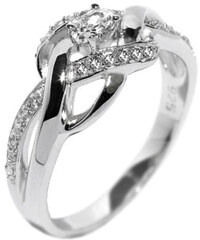 Silvego Elegantní stříbrný prsten EWER02989