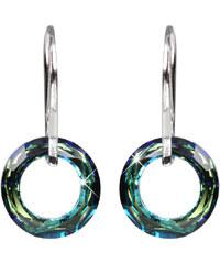 Troli Náušnice Cosmic Ring Bermuda Blue