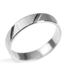 Silvego Stříbrný snubní prsten BSG20520