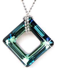 Troli Náhrdelník Cosmic Square Bermuda Blue