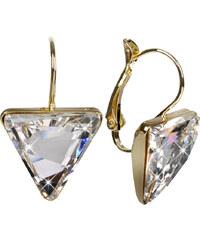 Troli Náušnice Delta 15 mm Crystal